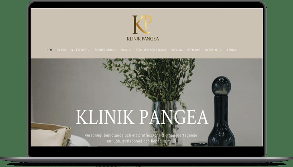 Klinik Pangea | Hemsida | Webshop