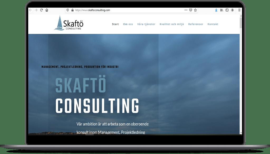 Skaftö Consulting | Hemsida