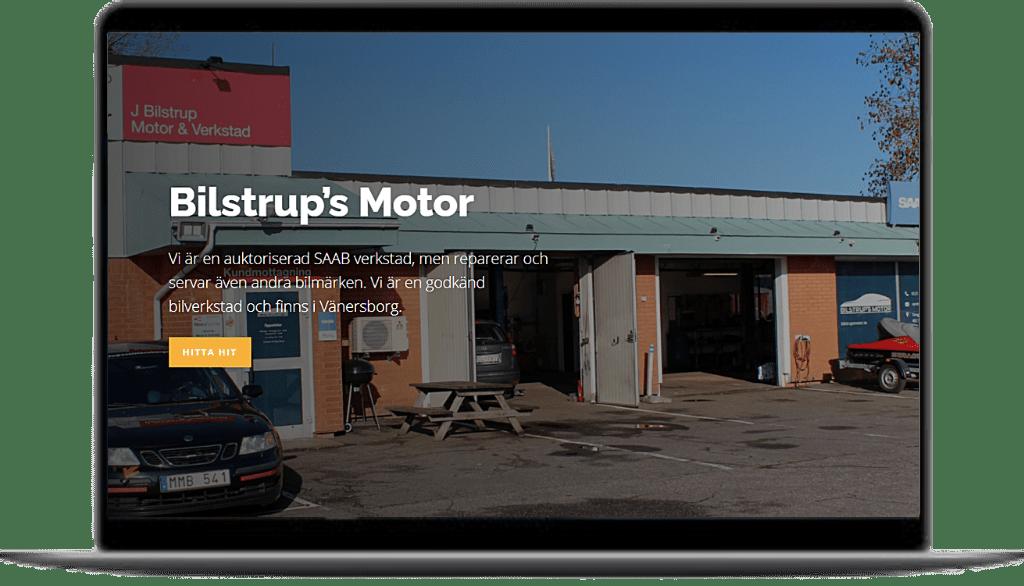 Bilstrup's Motor | Hemsida